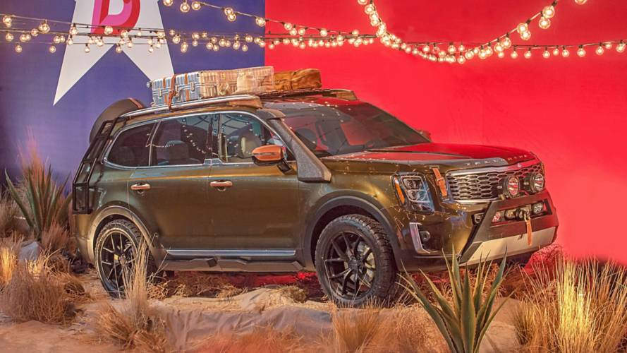 2020 Kia Telluride makes Texas-sized debut at NY Fashion Week