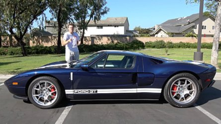 Doug Demuro Automotive Youtube And Owner Of The Eclectic Has A New Car In The Garage A  Ford Gt He Bought It Last Weekend From Karl Brauer