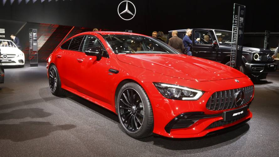 Mercedes-AMG GT 43 In Paris Wants To Steer You Away From A Panamera