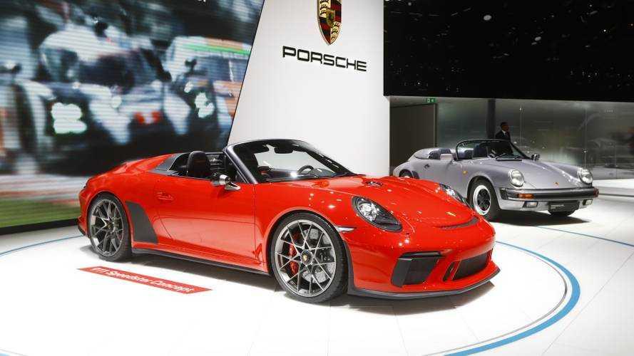 Porsche 911 Speedster konsepti