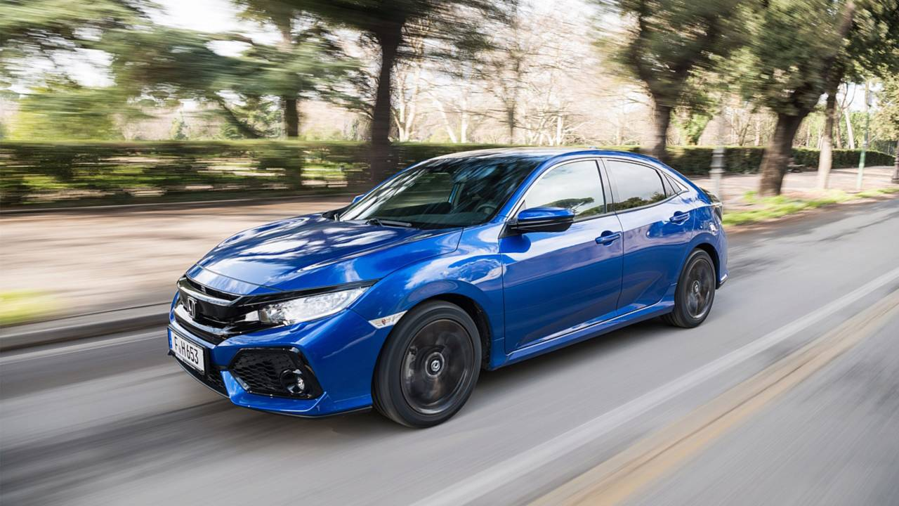 2018 Honda Civic diesel with automatic