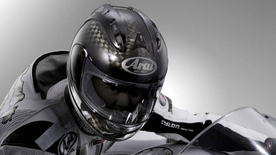 Arai Corsair V RC: F1 tech for motorcycles