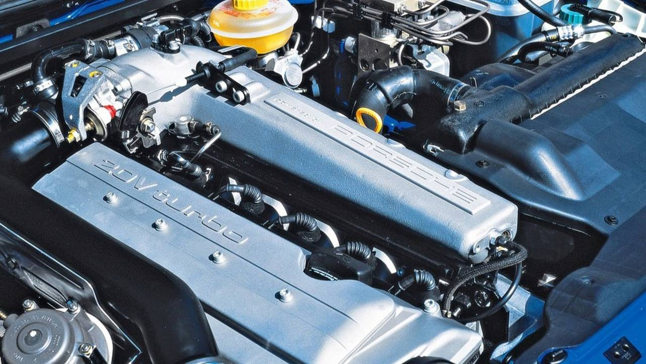 Audi RS2 Motoru