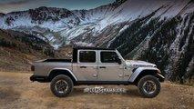 Jeep JL Scrambler Pickup tasarım yorumu