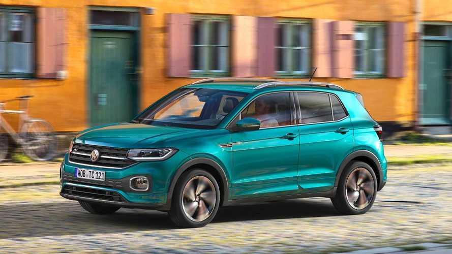 T-Cross erweitert die SUV-Palette von VW