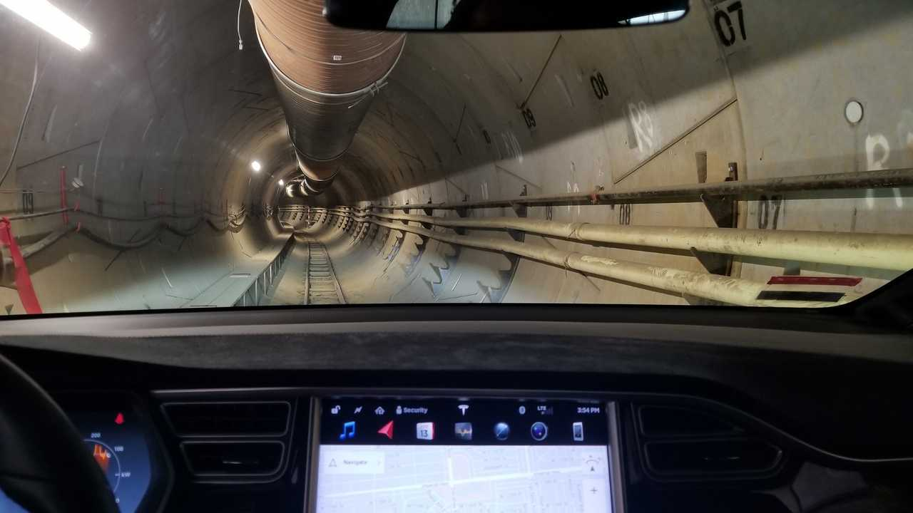 The Boring Company tunnel illustration