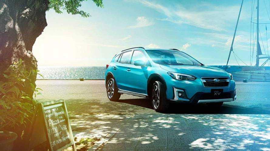 Subaru XV'ye hibrit destekli e-Boxer seçeneği geldi