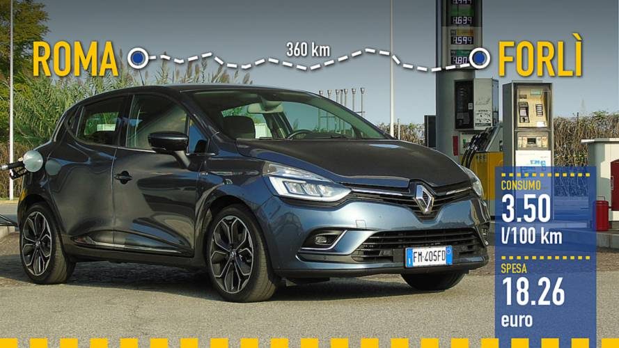 Renault Clio dCi, la prova dei consumi reali