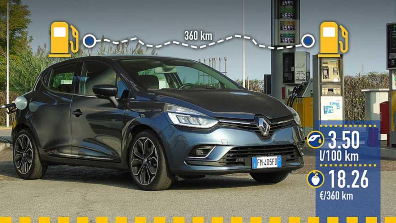 Renault Clio dCi 90, real fuel consumption test