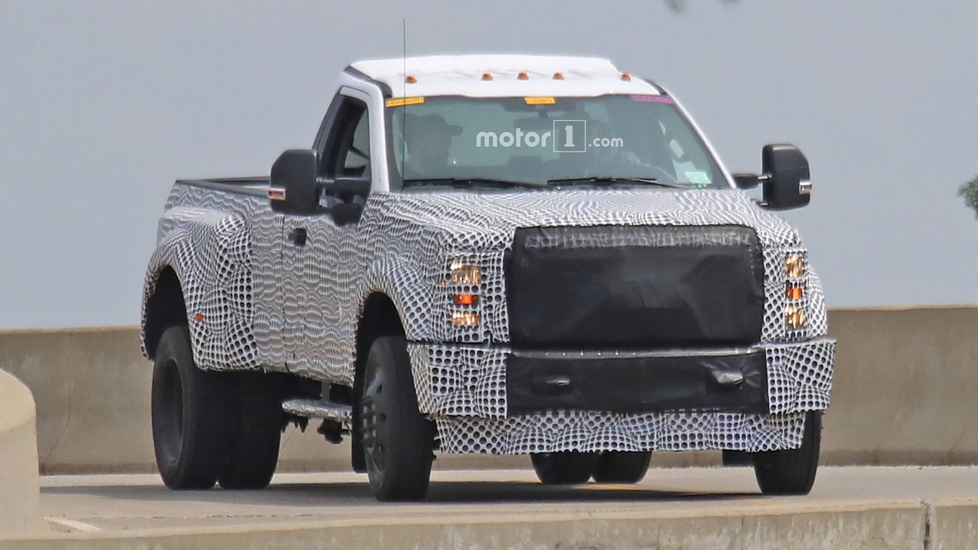 2020 ford super duty spied wearing full camo