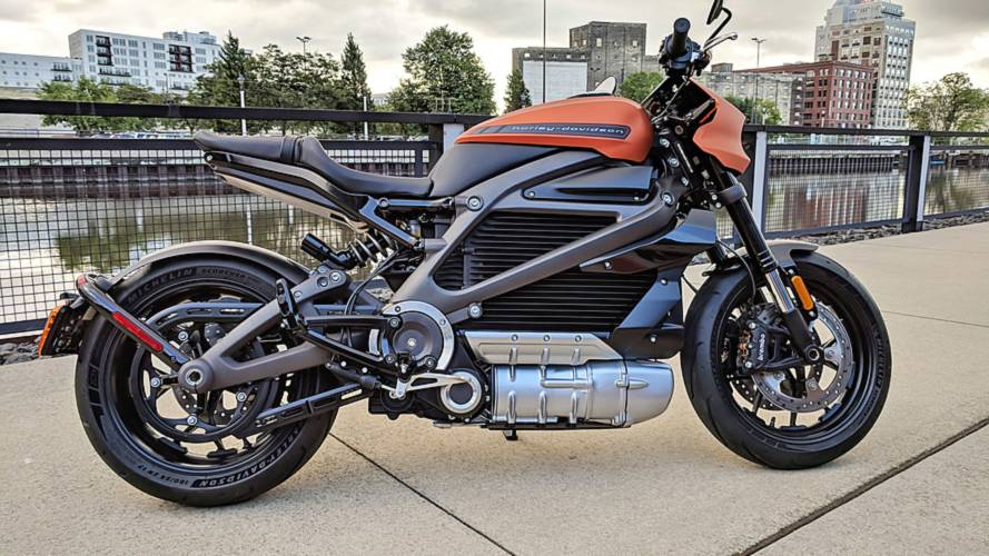 US-Built Harley Electric Bike Shown in Production Skin