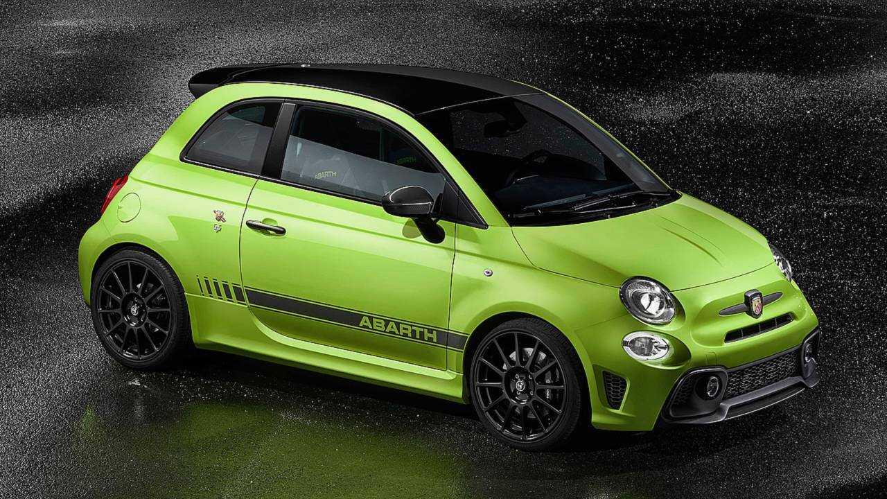 Abarth 595 Competizione Verde Adrenalina