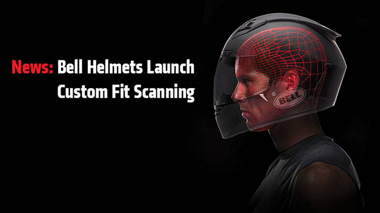 News: Bell Helmets Launch Custom Fit Scanning