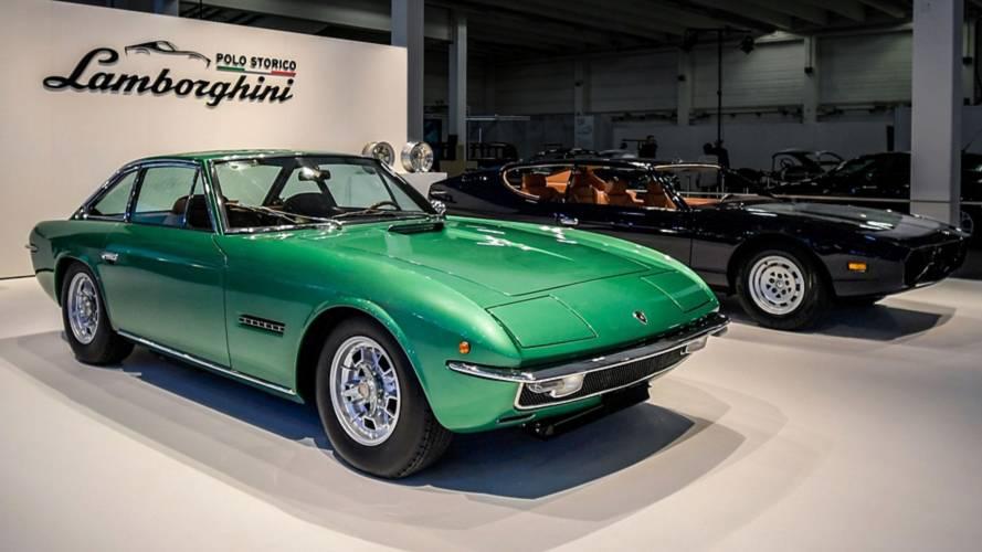 Két klasszikus modelljét is restaurálta a Lamborghini