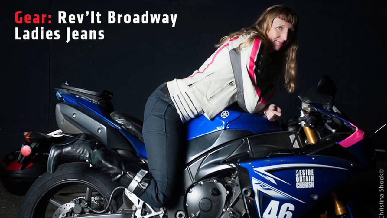 Gear: Rev'It Broadway Ladies Jeans