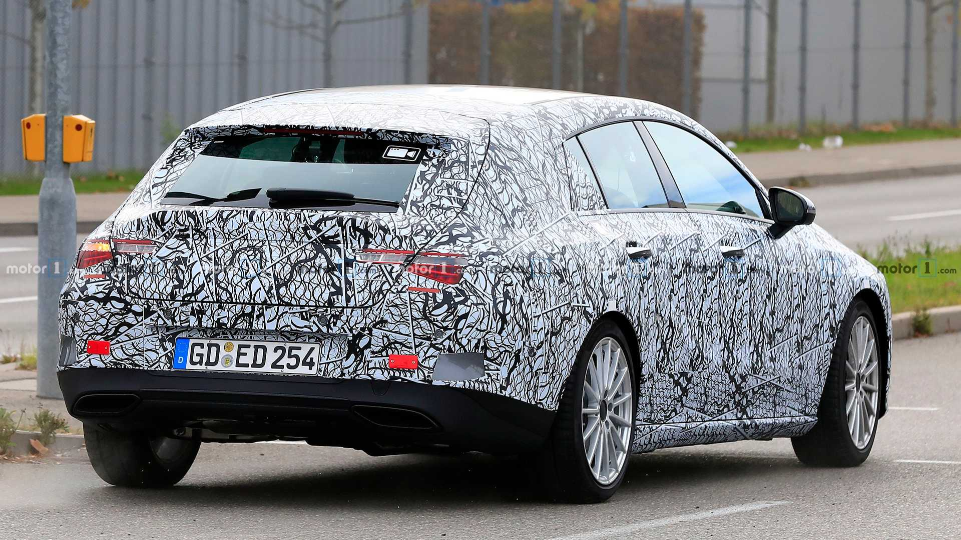 2019 - [Mercedes-Benz] CLA II - Page 4 2020-mercedes-cla-shooting-brake-spy-photo