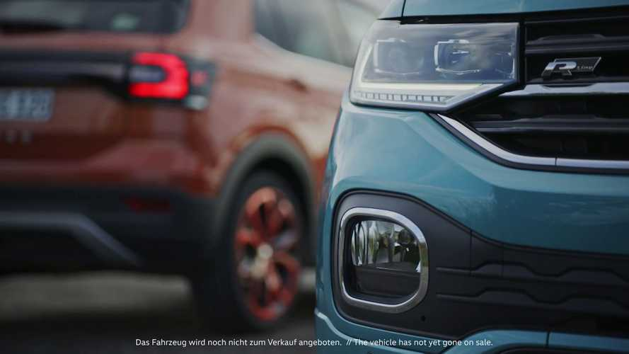 New VW T-Cross reveals its curious rear in another teaser