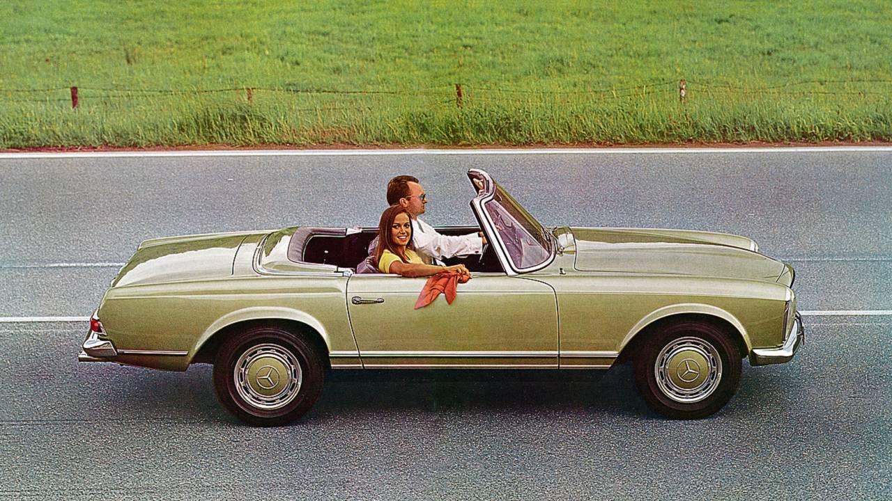 Platz 8: Mercedes 280 SL