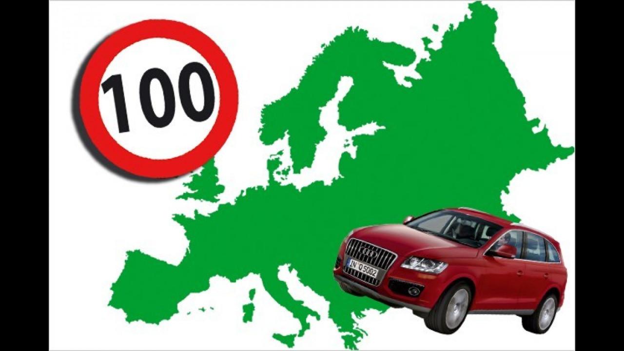 Teures Rasen in Europa