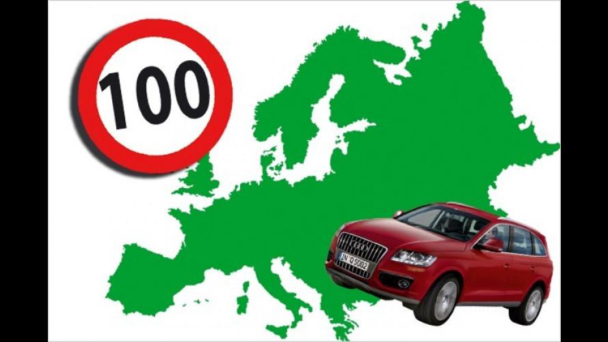 Temporegeln: Rasen in Europa kann richtig teuer werden