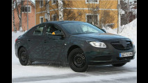 Opel Insignia im Schnee