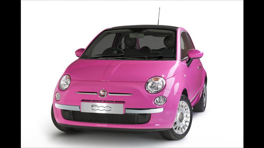 Fiat 500 Pink: Auffälliges Editionsmodell in limitierter Auflage