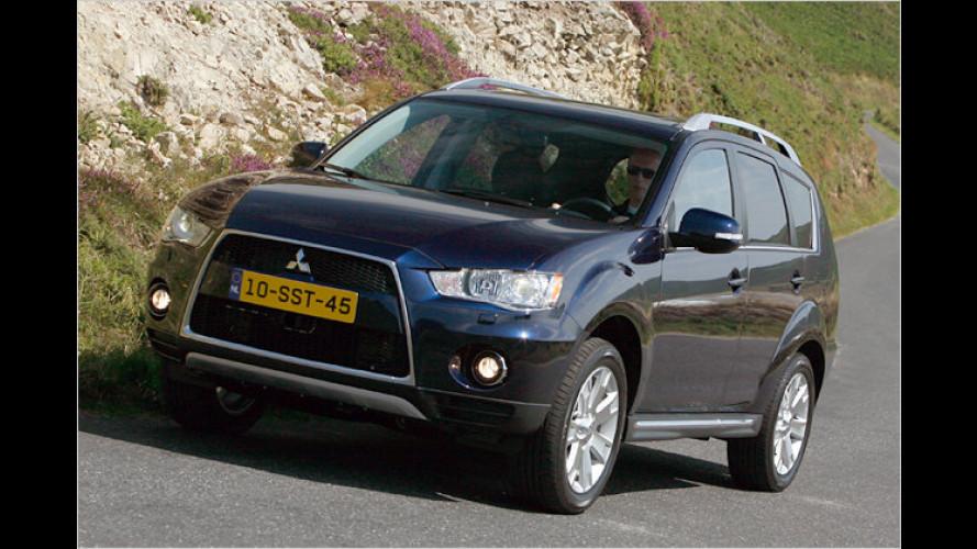 Mit Doppelkupplung: Neuer Mitsubishi Outlander