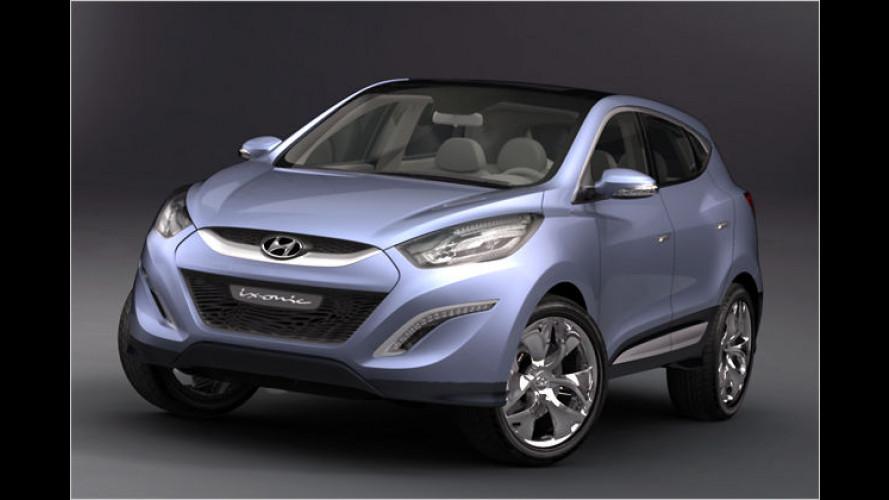 Studie ix-onic: Hyundai zeigt schicken Tucson-Nachfolger