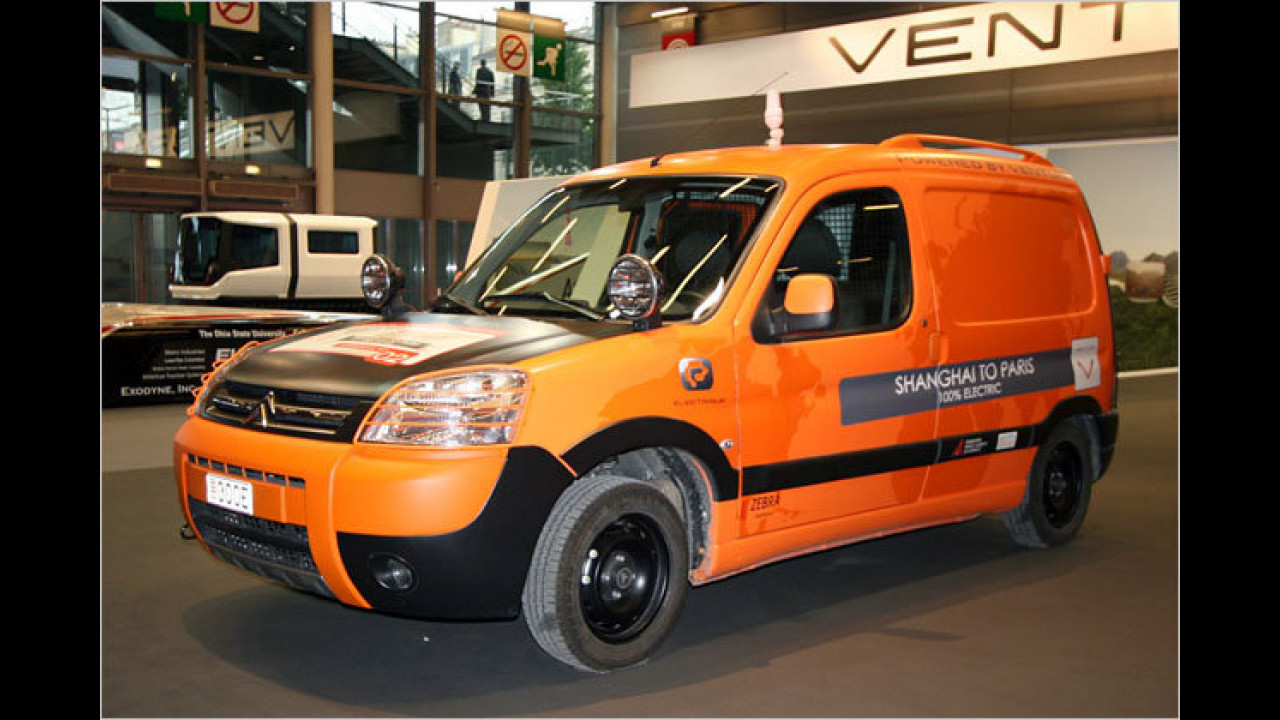 Citroën Berlingo powered by Venturi