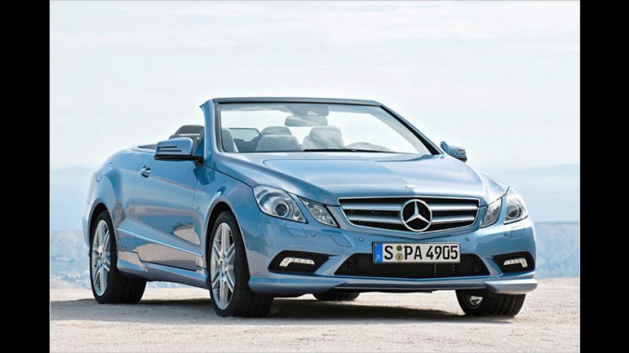 Mercedes zeigt neues E-Klasse Cabrio: Offen für alles