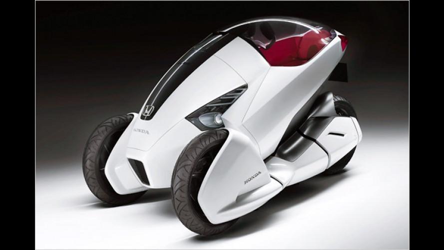 Hondas Elektro-Dreirad: Konzeptfahrzeug 3R-C in Genf