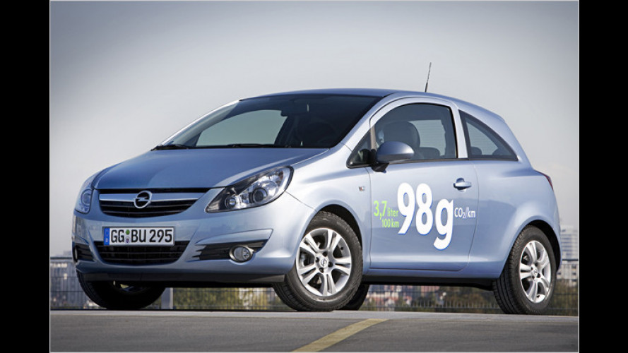 Neuer Opel Corsa 1.3 CDTI ecoFlex: 3,7 Liter Verbrauch