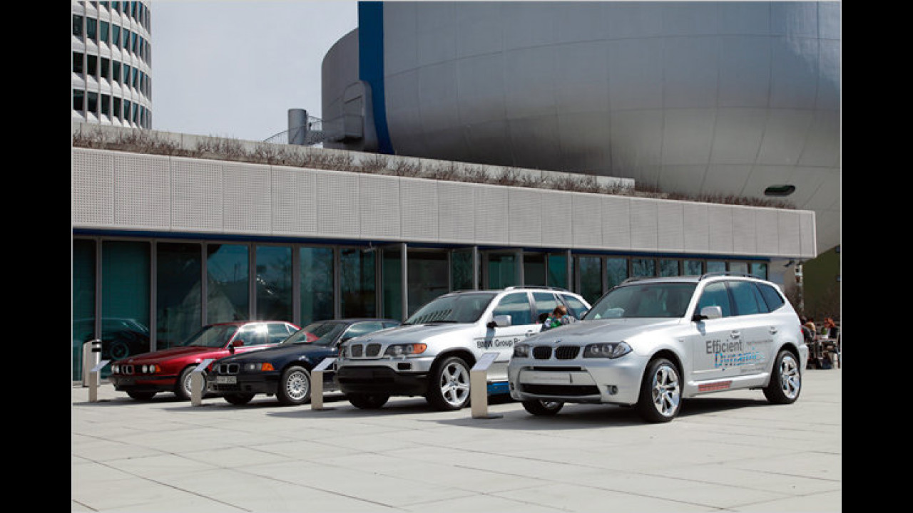 BMW Hybrid-Forschungsfahrzeuge