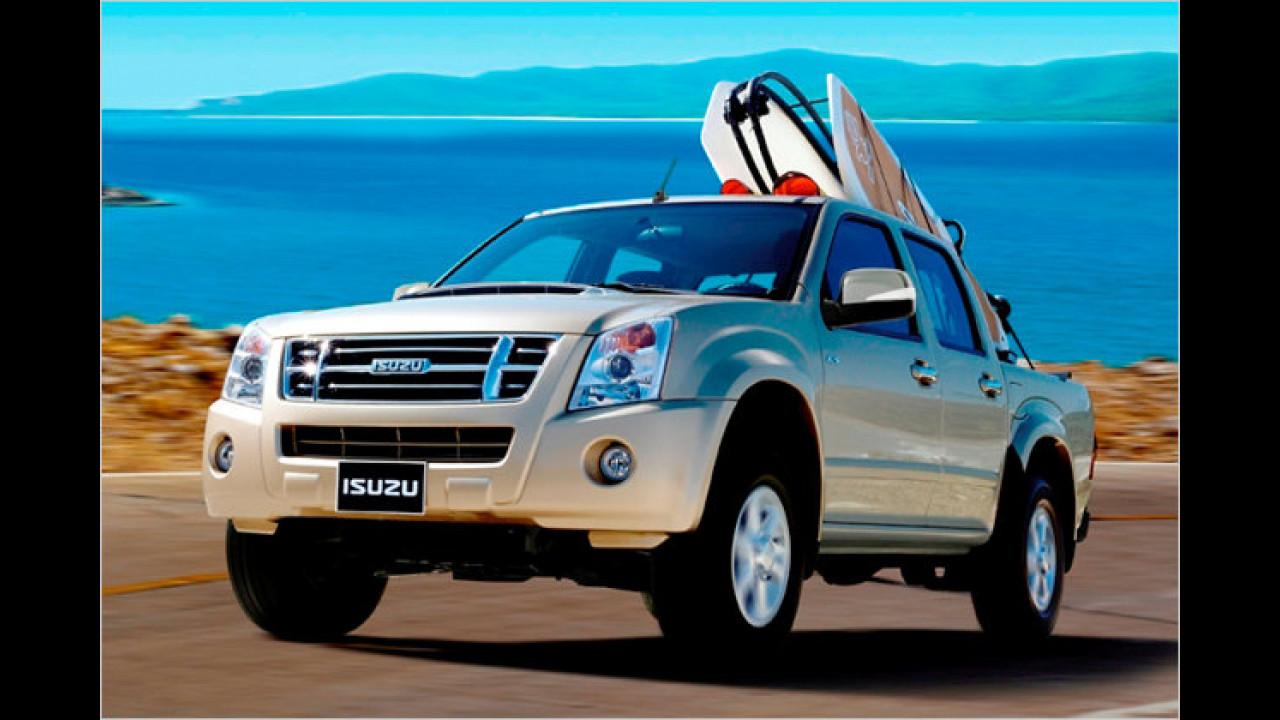 Isuzu D-Max 2.5 Diesel Double Cab Custom 4WD