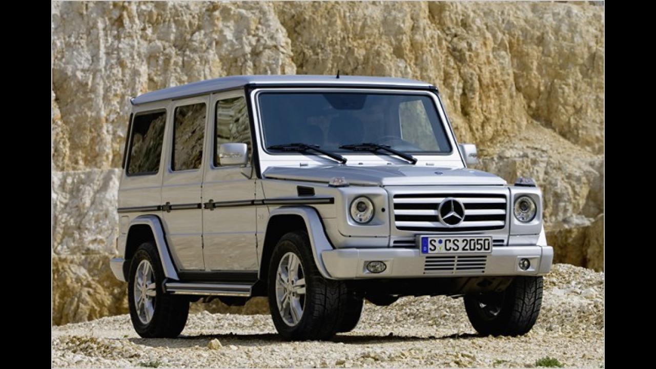 Mercedes G-Klasse Facelift
