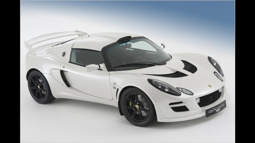 Lotus überarbeitet Exige S: Facelift für den Leichtbau-Briten