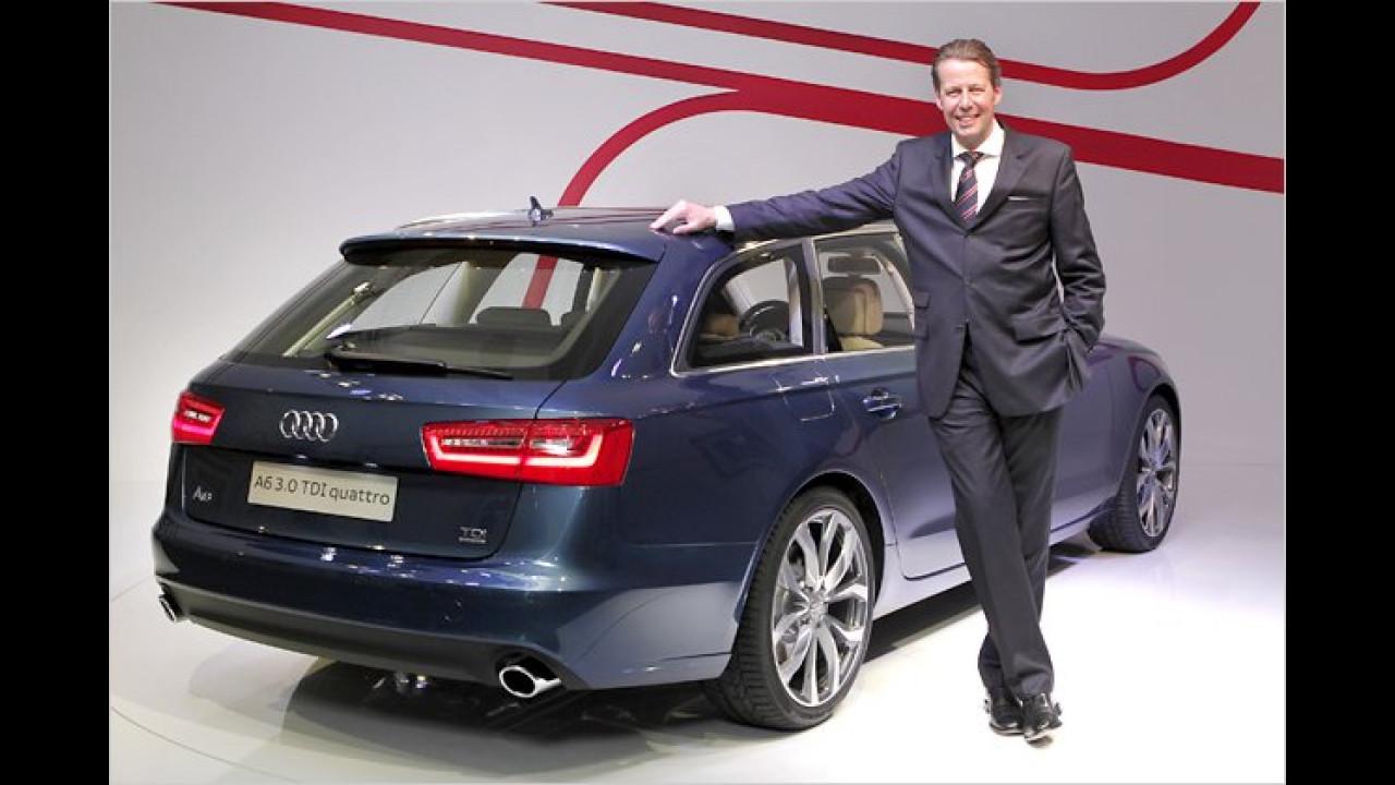 Audi A6 Avant im Erstkontakt