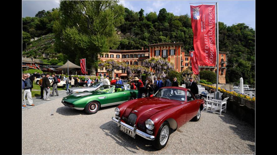 Die schönsten Autos vom Concorso d`Eleganza 2009 am Comer See