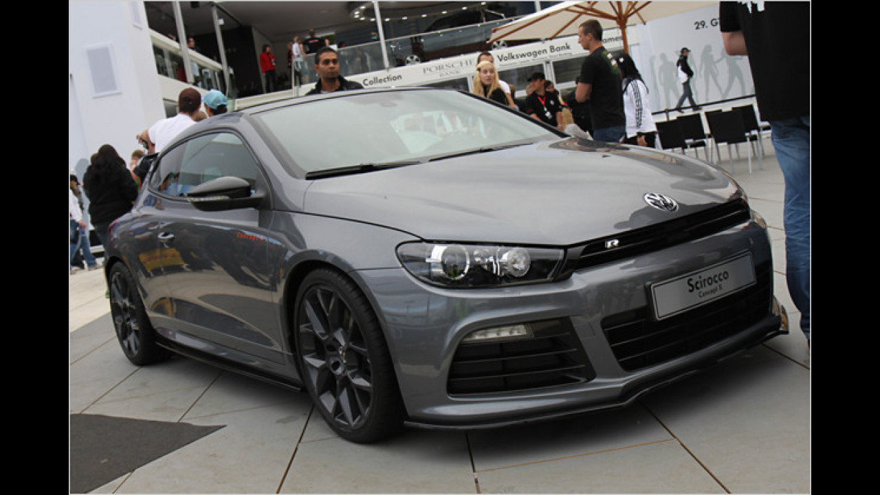 VW zeigt auf dem GTI-Treffen am Wörthersee unter anderem den Scirocco Concept X