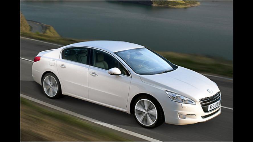 Preis fix: Peugeot 508 kommt im Frühjahr 2011 auf den Markt