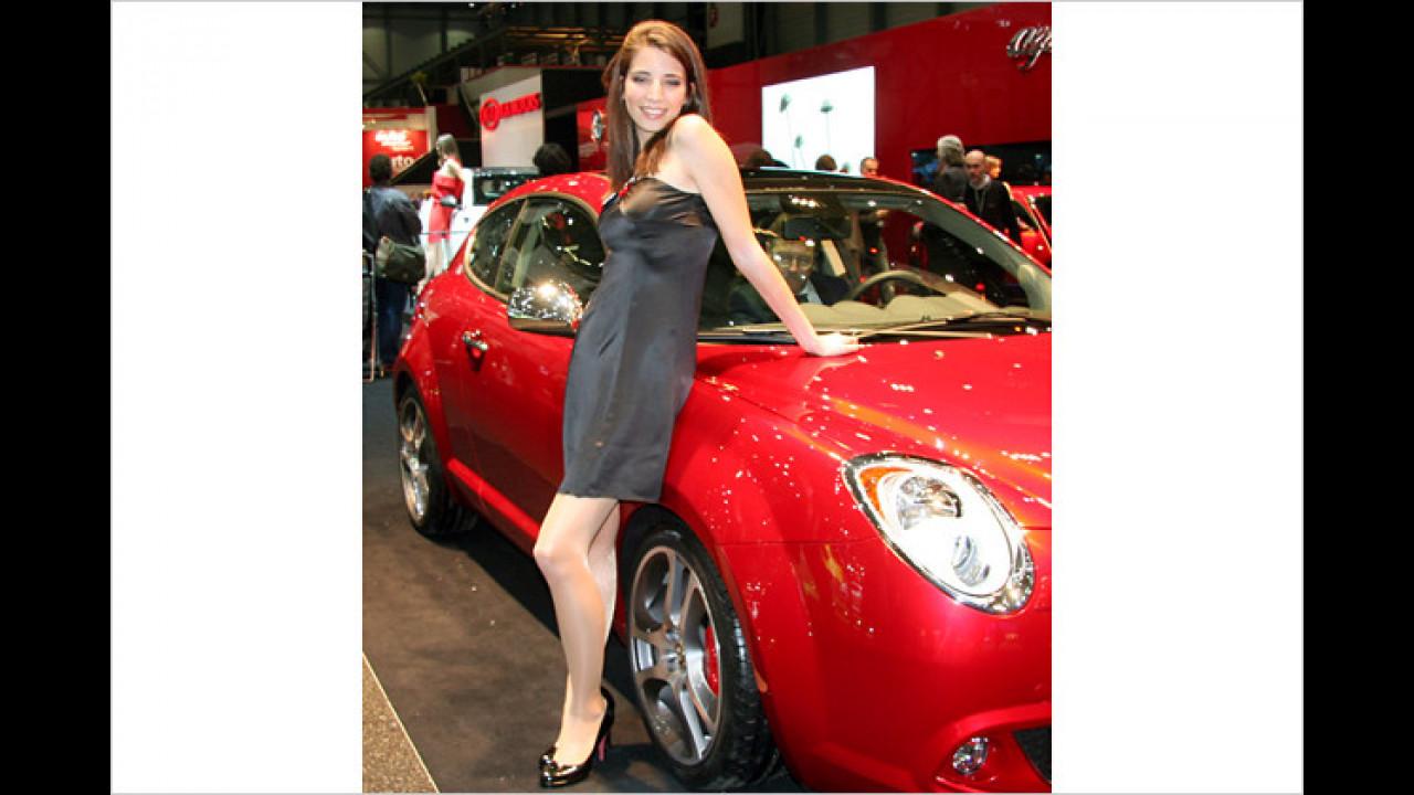 Frauenauto: Der MiTo ist aber mit seinen Kulleraugen wirklich süß