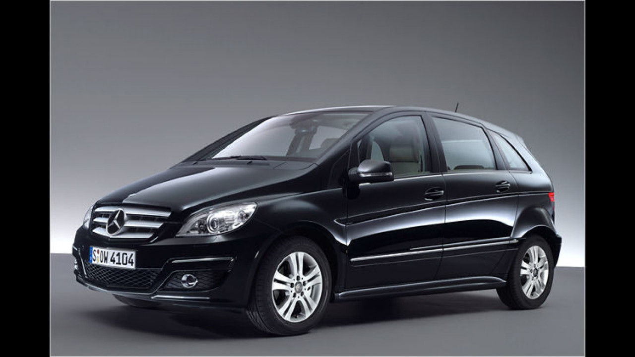 Mercedes B 170 BlueEFFICIENCY
