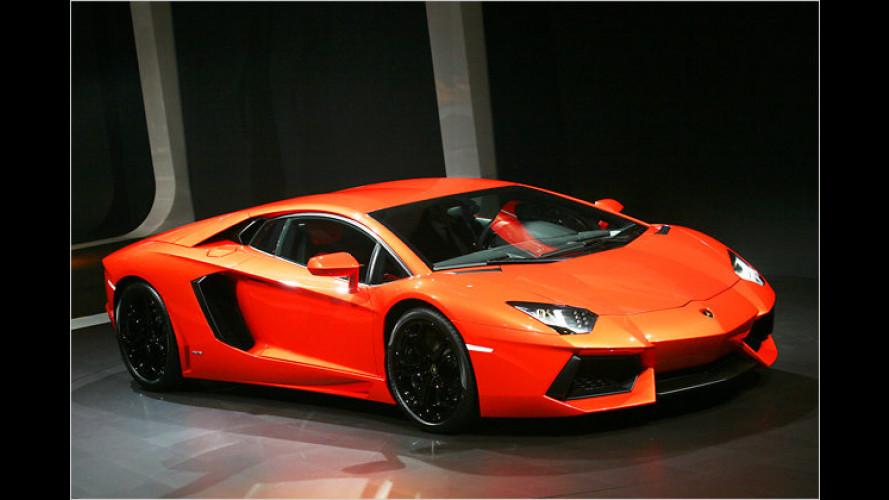 Lamborghini zeigt seinen neuen Super-Stier