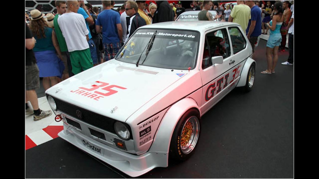VW Golf I GTI Rennfahrzeug