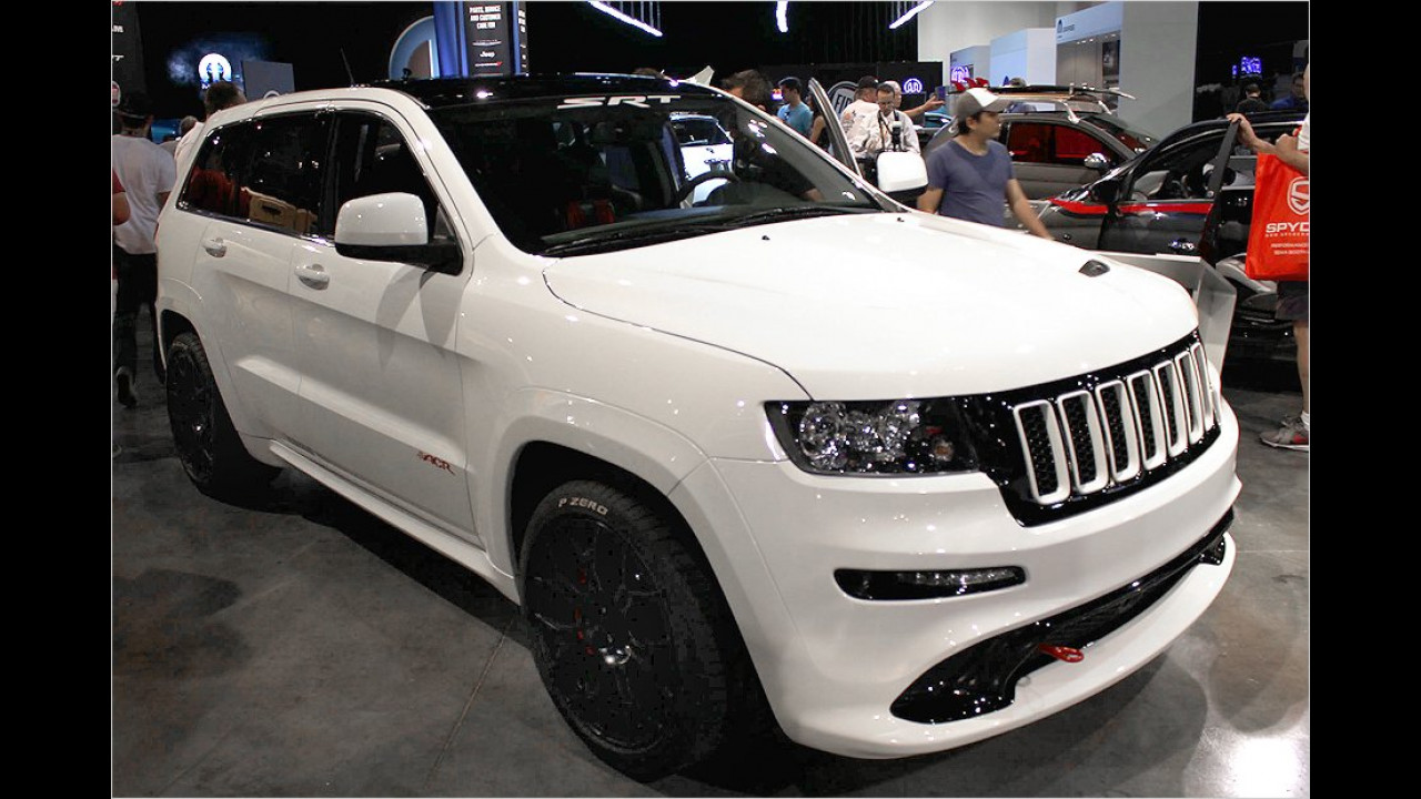 Jeep One Lap Grand Cherokee SRT