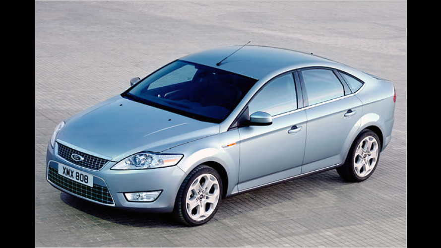 Ford Mondeo, S-Max und Galaxy mit Bio-Ethanol-Antrieb