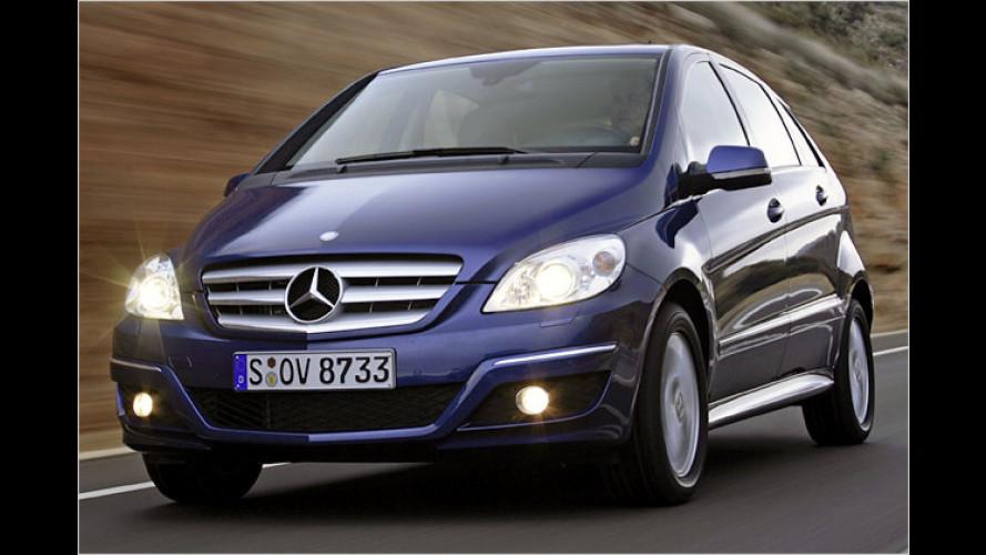 Mercedes: Schönheits-OP mit Tiefenwirkung für die B-Klasse