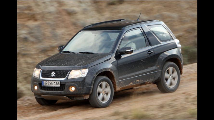 Er kann auch Offroad: Neuer Suzuki Grand Vitara im Test