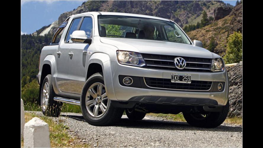 VW Amarok: Der Preis des Pick-ups