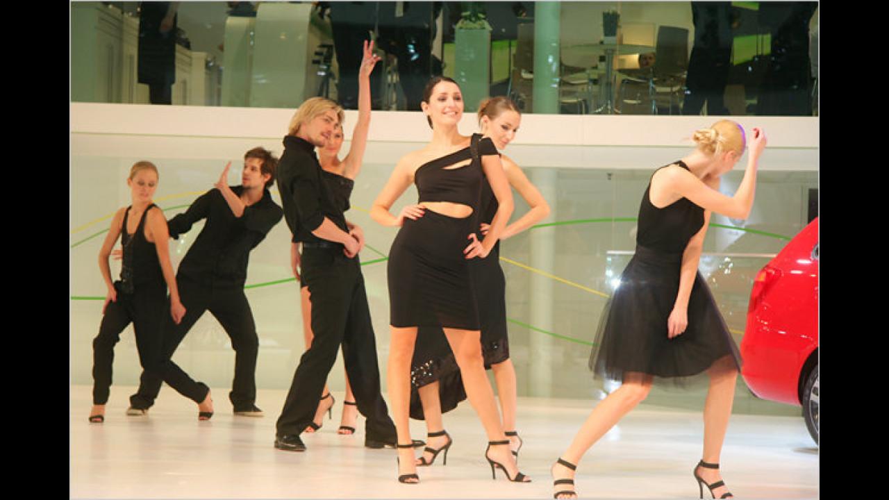 An diesem Stand tanzt man (und Frau) vor Freude